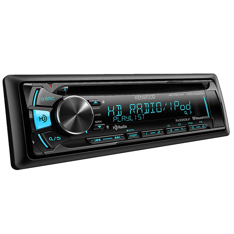 Kenwood Kdc Hd262u In Dash Cd Receiver With Built In Hd
