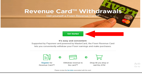How to Link your Fiverr account to Payoneer