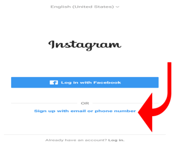 2 ways to sign up instagram