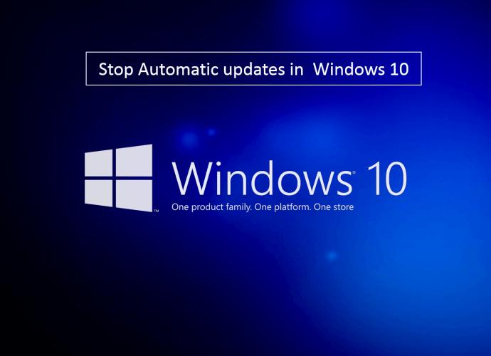Windows 10 Auto Updates