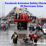 Facebook Activates Safety Check For Victims Of Hurricane Irma