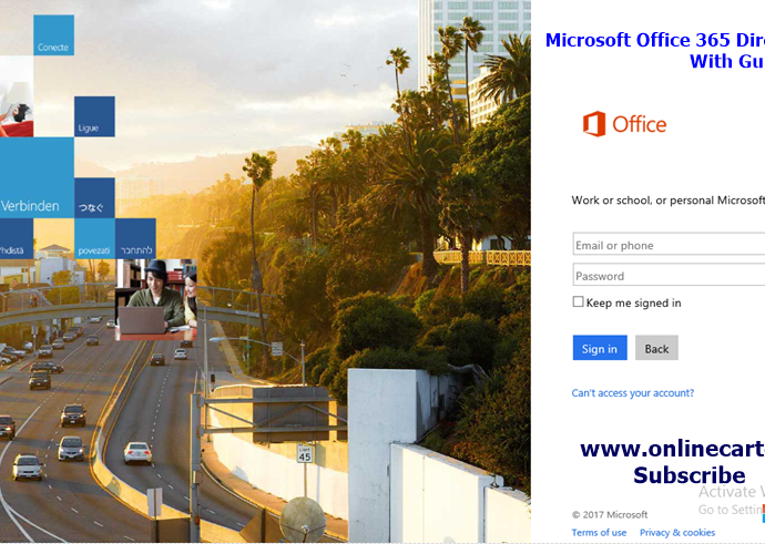 microsoft office 365 portal sign in