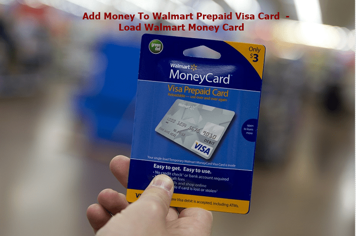 add money to walmart prepaid visa card load walmart money card - How To Put Money On A Prepaid Card