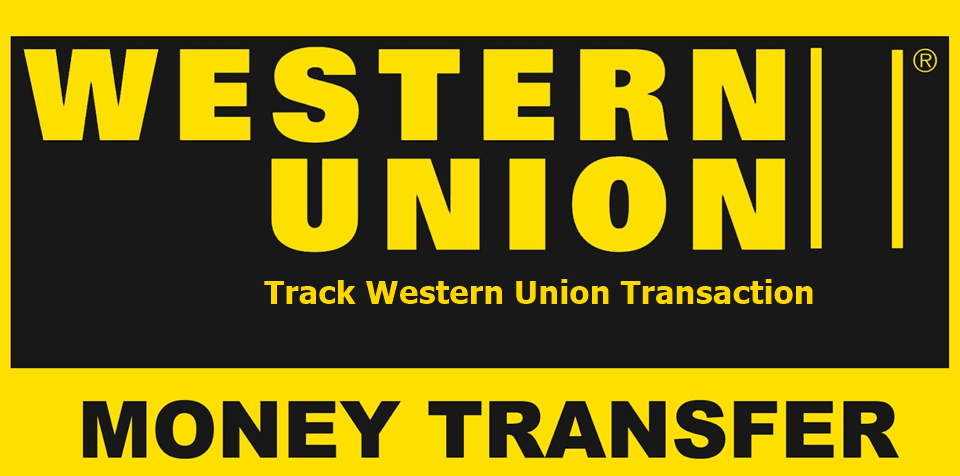 track western union transaction