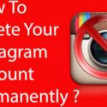 How To Delete Instagram Account From Your Mobile Phone And Desktop