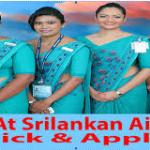 Apply For SriLankan Airlines Jobs @ www.srilankan.com/en_uk/opportunity