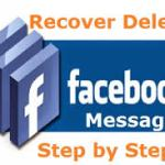 Steps To Recover Deleted Facebook Messages