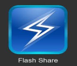 Flash share app