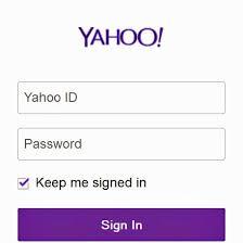 Yahoo mail password