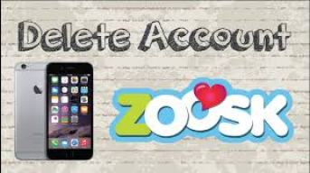 Zoosk deletion