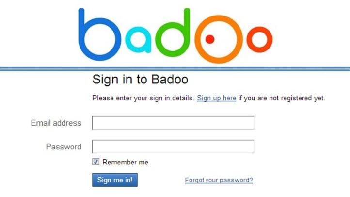 Sign in desktop badoo Badoo Review