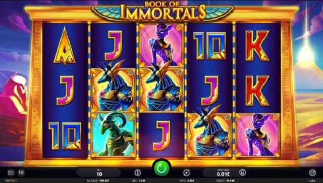 iSoftBet Brings Exciting Adventure with Book of Immortals