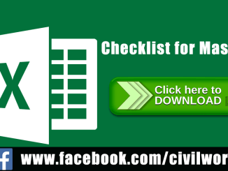 Excel Sheet Archives - Page 3 of 8 - Online CivilForum