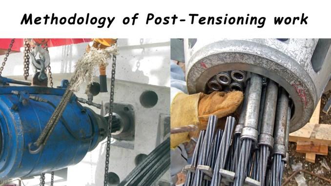 Methodology of Post-Tensioning work - Online Civil