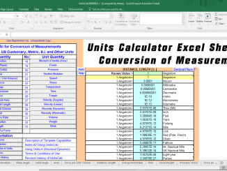Excel Sheet Archives - Online CivilForum