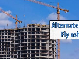 Alternate for Fly ash