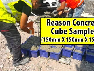 Reason concrete cube samples 150mm