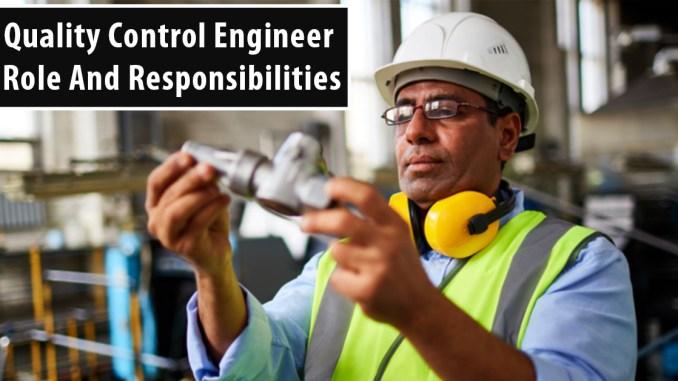 Quality Control Engineer