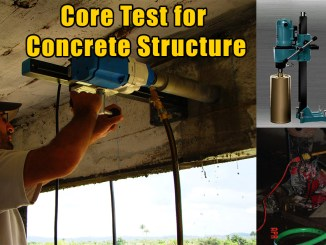 Core Test for Concrete Structure