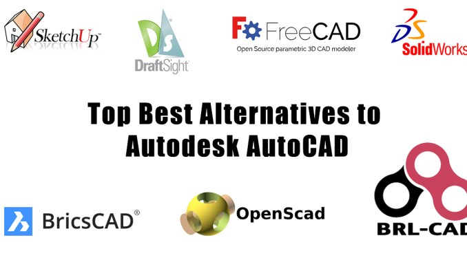 Top Best Alternatives to Autodesk AutoCAD