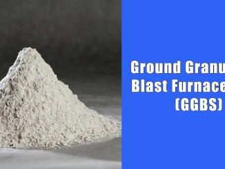 Ground Granulated Blast Furnace Slag (GGBS)