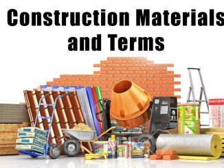 Construction Materials and Terms