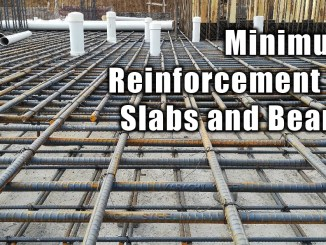 Minimum Reinforcement in Slabs and Beams