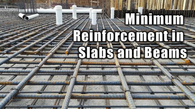Minimum Reinforcement in Slabs and Beams