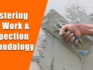 Plastering and Work & Inspection Methodology