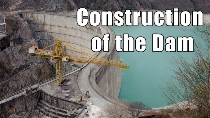 construction of the check dam