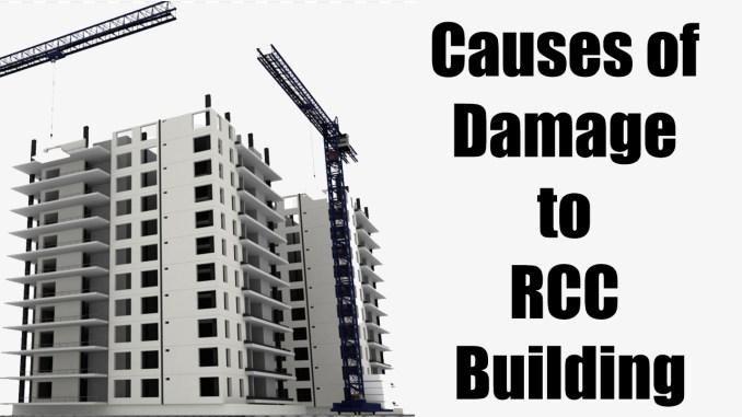 Causes of Damage to Reinforcement Cement Concrete Building