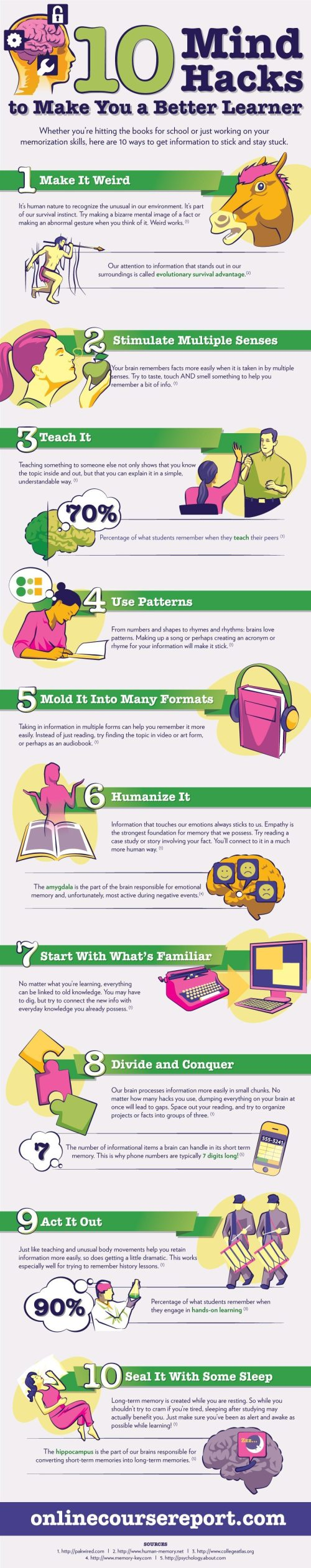 Mental Hacks to Make You a Better Learner