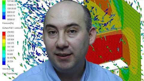 SolidWorks Flow Simulation ile Akkan ve Is Hesaplar