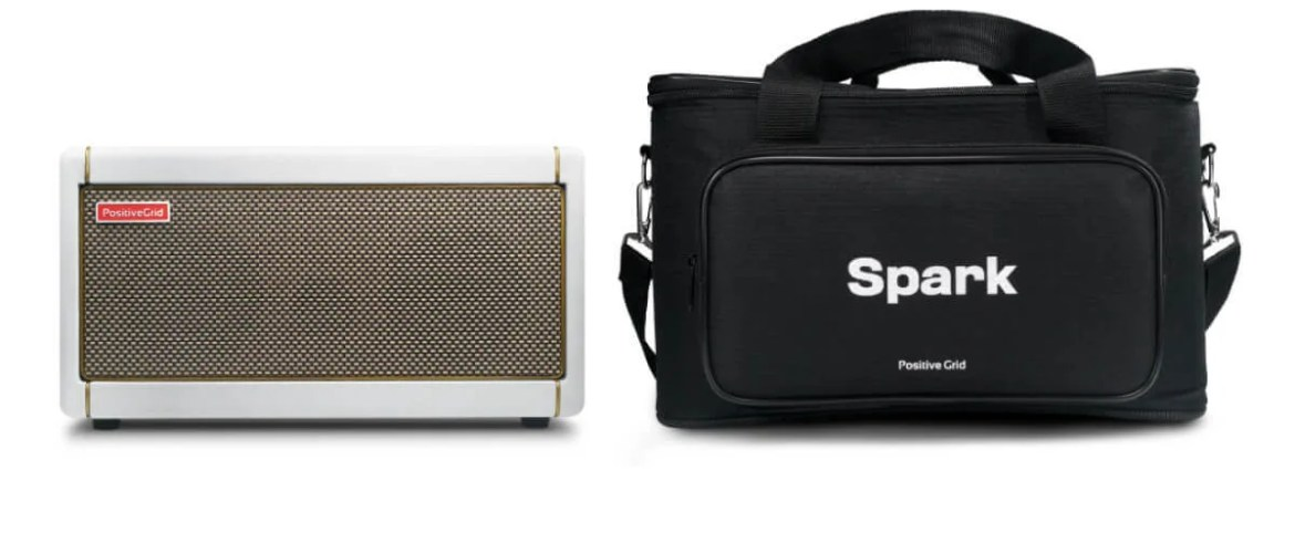 Spark Pearl | Smart White Guitar Amp by Positive Grid