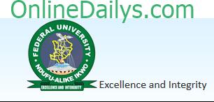 Federal UNiversity Ndufu-Alike