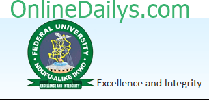 FUNAI 2014/2015 POST UTME Result