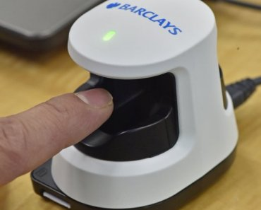 Barclays launches Finger scanner