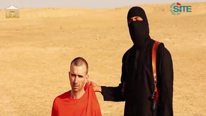 Islamic state video purports to release beheading of British