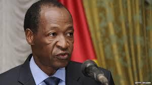 Burkina Faso's President Blaise Compaore