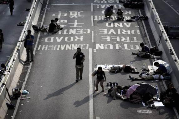 Photos of Hong Kong protests 13