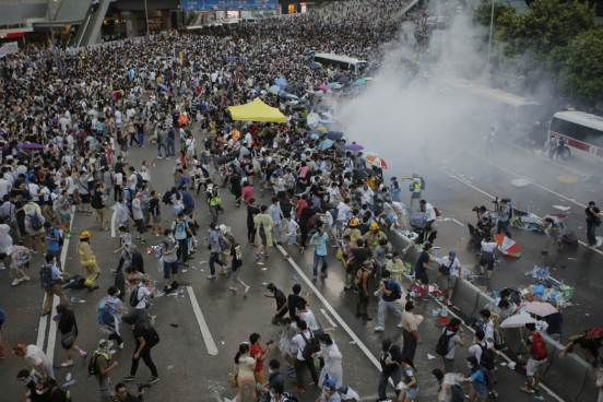 Photos of Hong Kong protests 47