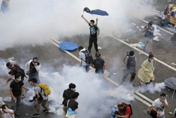Photos of Hong Kong protests 48