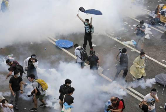 Photos of Hong Kong protests 48