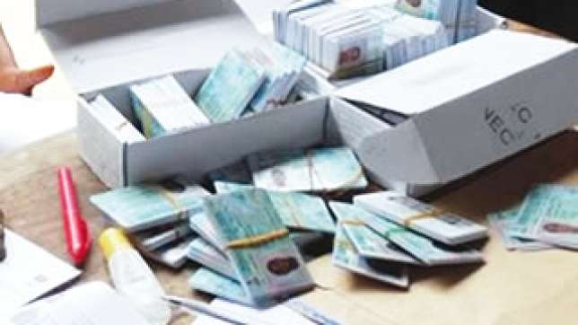 Police recover 1,700 stolen voter cards
