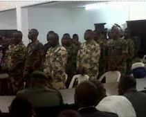Nigerian soldiers sentence to death