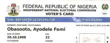 nigeria Voters Card