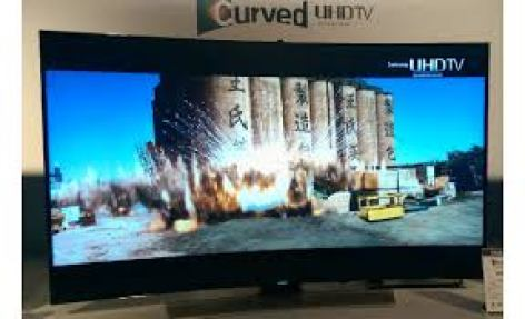 New Samsung Curved UHD TV