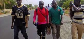 Man who trekked form Lagos to Abuja 6