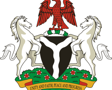 The Coat of arms of Nigeria