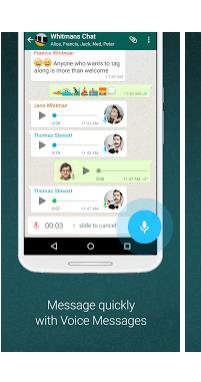 quick voice message
